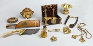 Overzicht enkele Liefkes objecten (©foto:  RMV)